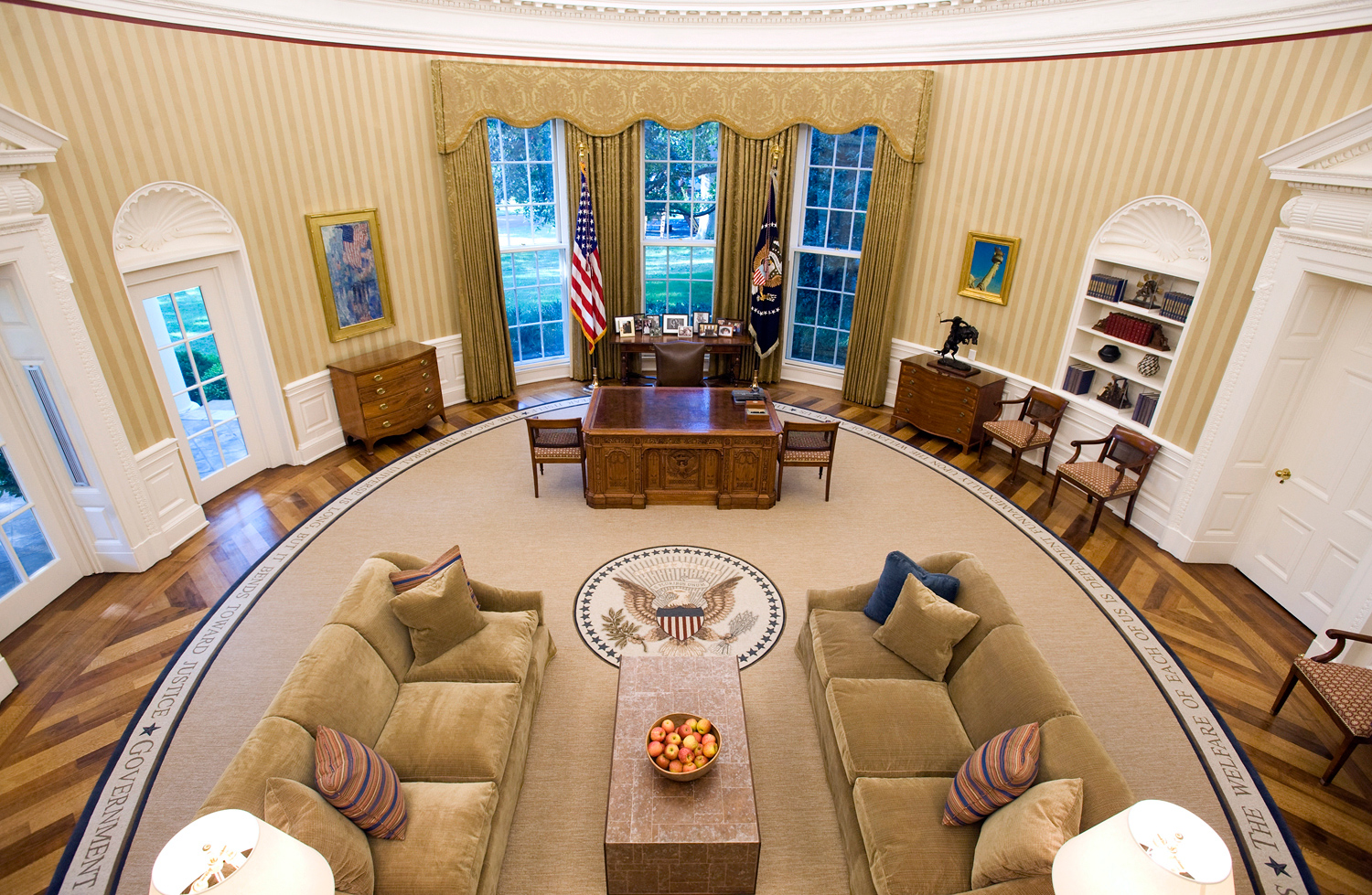recreating oval office. This Recreating Oval Office
